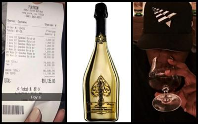 Jay-Z reportedly spent over $91,000 at one bar in one night