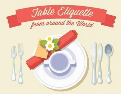 Hot Clicks: Strange table manners across the world