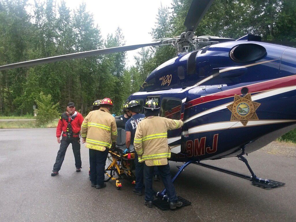 North Idaho man missing since Friday rescued from ravine, taken to Kootenai Health for evaluation