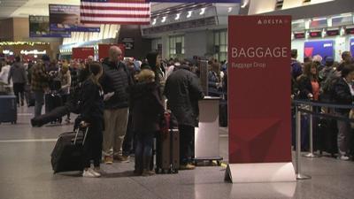PHOTO: Major Flight Delays at Airport