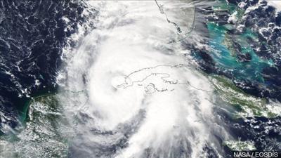Major Hurricane Michael nearing Cat 4 strength