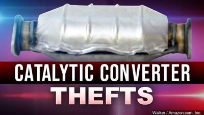 catalytic converter thefts