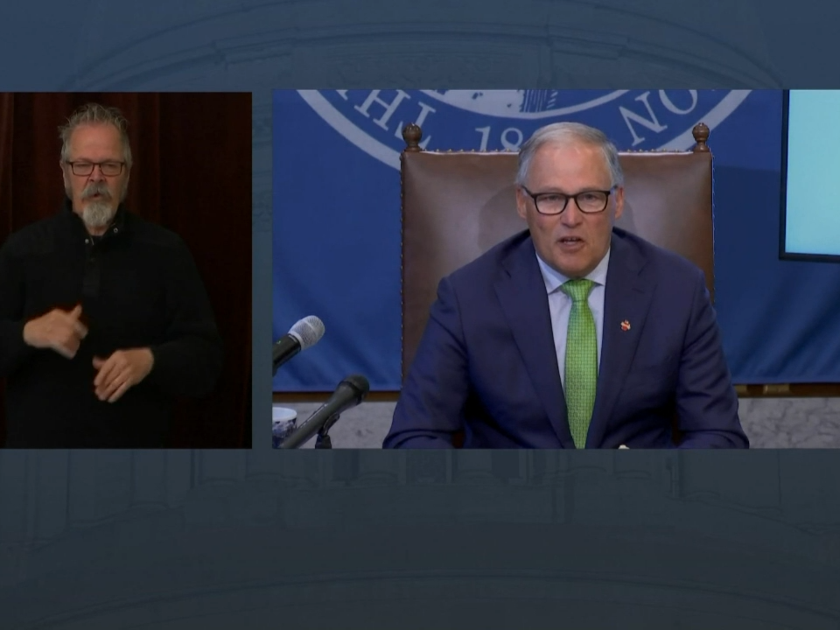 WATCH: Gov. Insless Gov. Inslee discusses the requirements for additional county variances