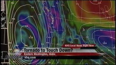 Tornado in Eastern Washington?