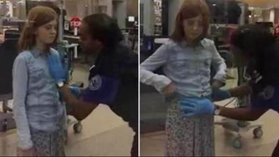 Hot Clicks: Father outraged after 10-year-old daughter gets patted down by TSA agent