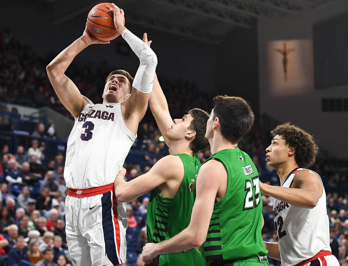 Gonzaga Climbs To No 2 In Ap Poll Debuts At No 6 In Ncaa