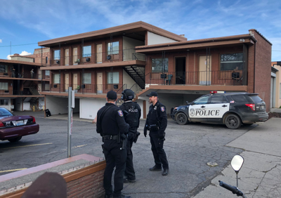 SWAT Standoff at Downtowner Motel