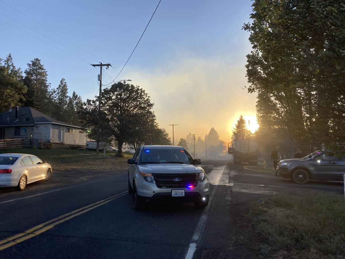 Town of Malden in Whitman County burns to the ground