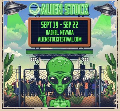 'Raid Area 51' Facebook event turns into Alien Stock music festival