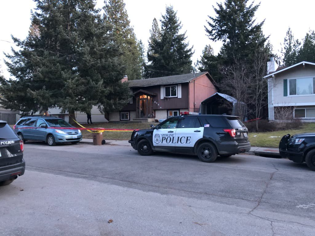 Spokane Police on scene of shooting on South Hill, shooter detained