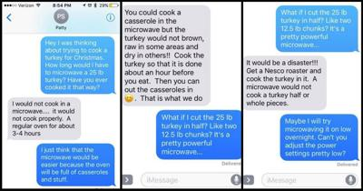 Can you prank your mom? 'The 25 pound turkey challenge'