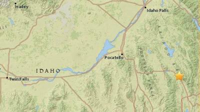 Small earthquake rattles eastern Idaho, no damage reported