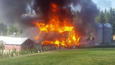 Barn At Historic Wedding Venue Burns Down In Coeur D Alene News