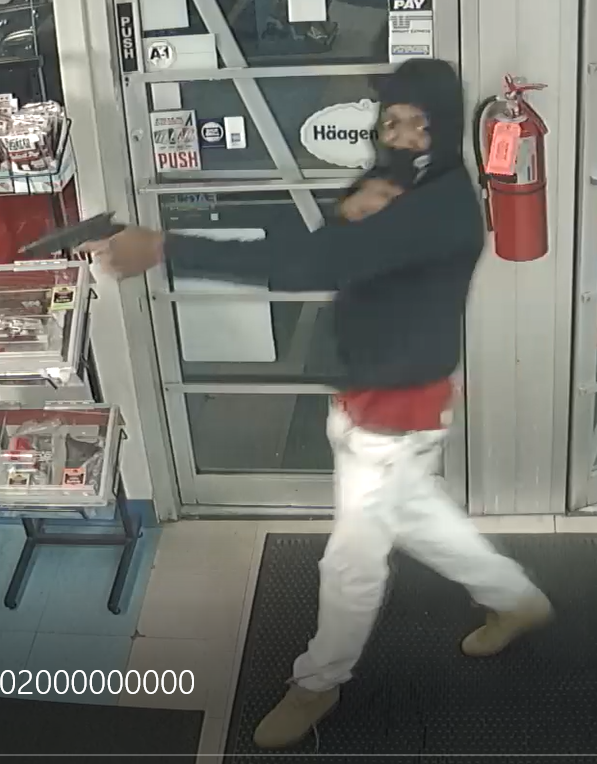 Cheney Police searching for suspect in armed convenience store robbery