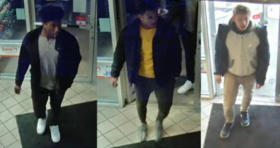 Suspects in Stealing Alcohol