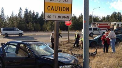 2 Car Crash On Highway 2 At Elk-Chattaroy Road | News | khq com
