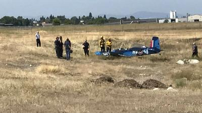 Pilot okay after small plane crash in Hillyard