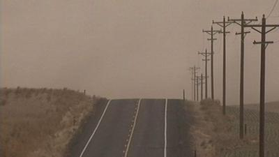 Low visibility on I-90 remains a possibility