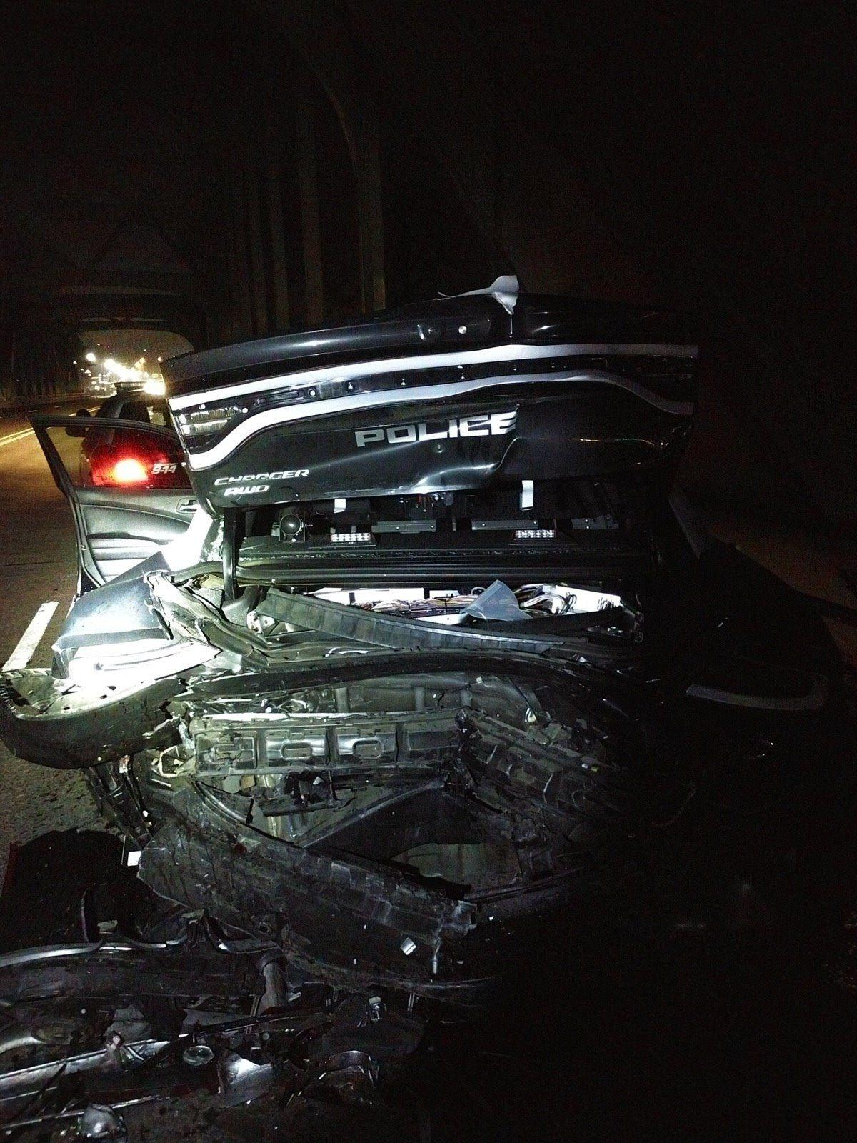 Gladstone officer hit by DUI driver