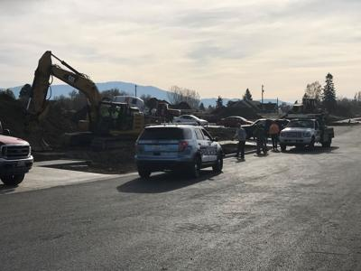 Man in critical condition after being run over at Spokane Valley worksite