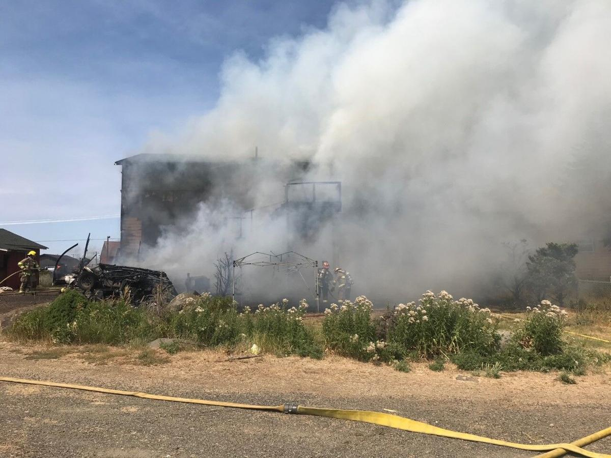 BREAKING: Smoke seen billowing from building near I-90 Geiger exit