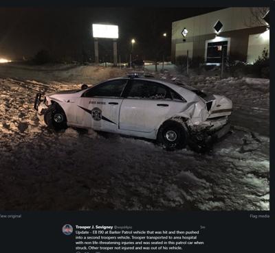I-90 Trooper Crash