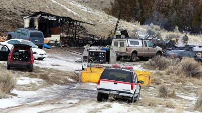 2 people found dead after house fire in southern Montana
