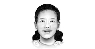 Sketch now available for remains of a female child found in Oregon
