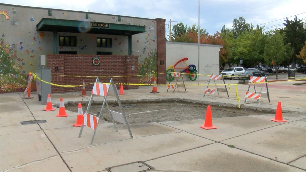 New solar panels being installed in Sandpoint town square
