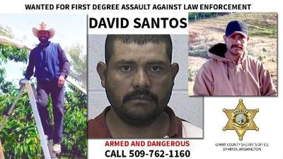 New photos released of Wanted fugitive David Santos