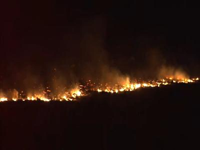 THE LATEST: Grant County wildfire grows to 5,000 acres, fueled by strong winds
