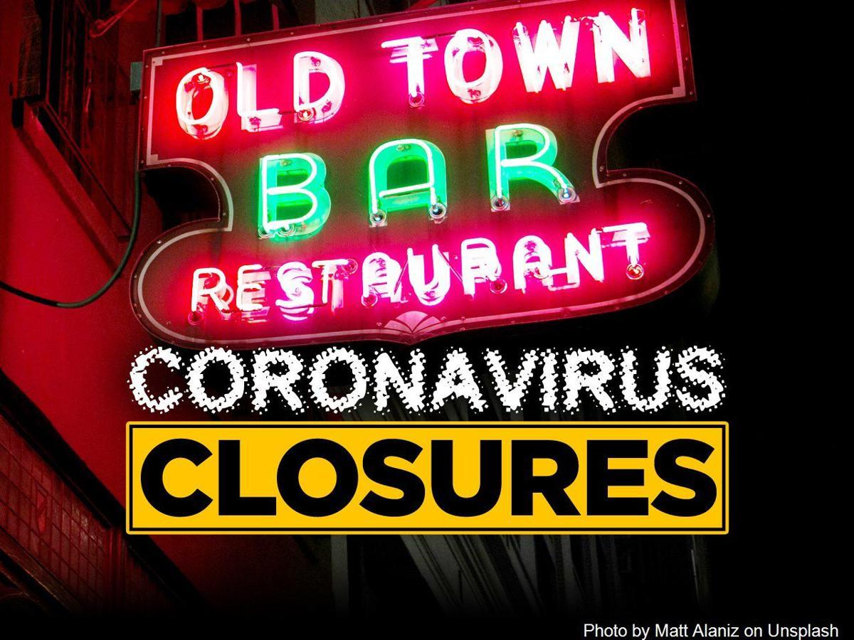 coronavirus closures