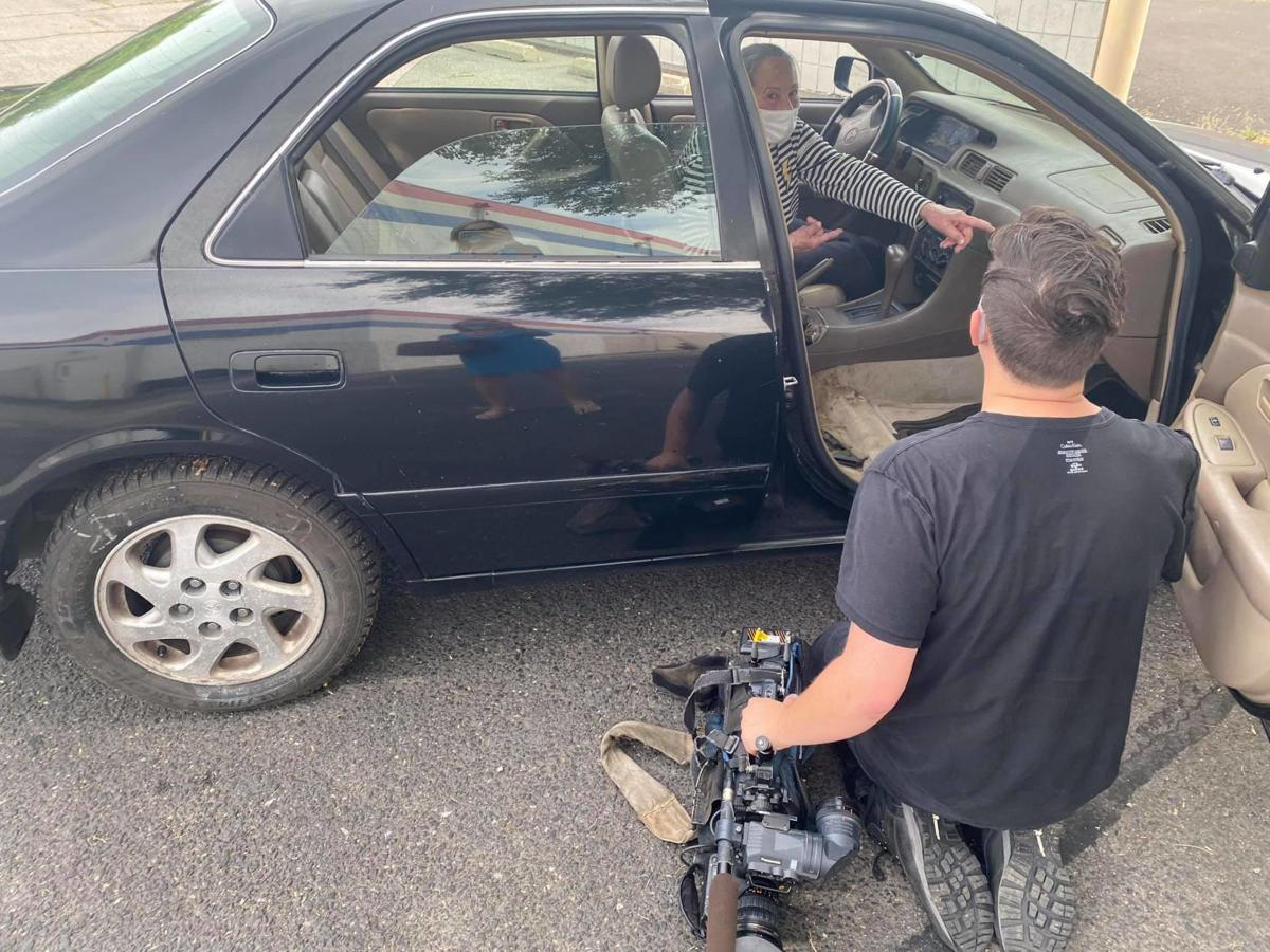 Woman hoping to find replacement parts after arsonist targets vehicle in North Spokane