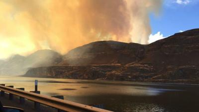 Large wildfire in Douglas County now 95 percent contained