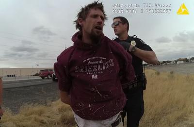 MLPD: Moses Lake man with warrants makes 'poor tactical decision' to run from 'officer who actually enjoys running'