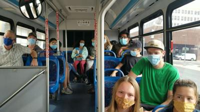 United Way & Alliance for Youth find a unique way to spread awareness on public transportation