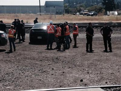 Oil train protesters standing on Spokane tracks arrested