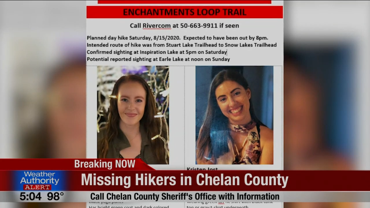 UPDATE: Missing hikers found safe in Chelan County | Top Story