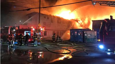 Five buildings engulfed by fire in Seattle's Queen Anne