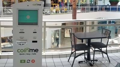 Spokane gets first Bitcoin ATM