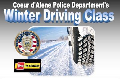 PREPARE FOR WINTER: Coeur d'Alene Police offer FREE Winter Driving Classes