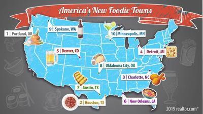 Spokane makes the top ten new Foodie cities
