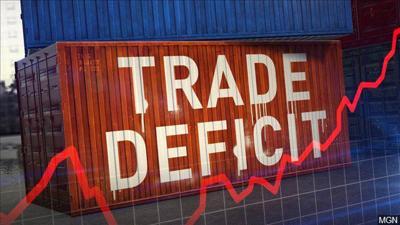 US trade gap falls 15 percent to $51.1 billion in January