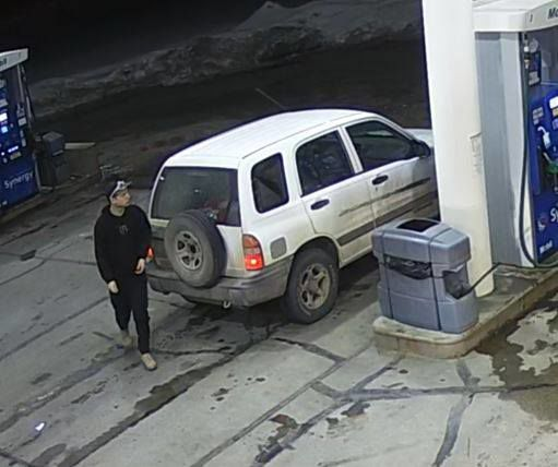 KCSO asks for help identifying person who may have info on damaged gas pump, theft