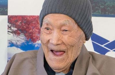 World's oldest man's secret to long life: soaking in hot springs and enjoying sweets