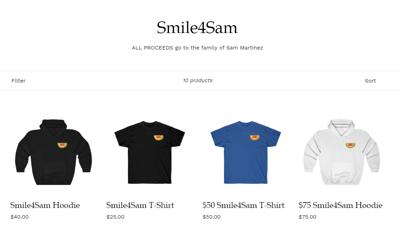 smiles for sam