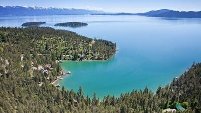 Flathead Lake arial
