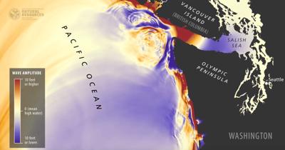 Washington State DNR releases tsunami simulation