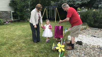 Spokane couple replaces stolen fairy garden for 3-year-old