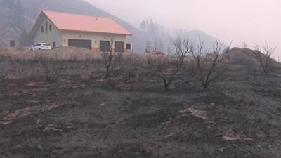 Family credits sunglasses with saving home from Okanogan Complex Fire